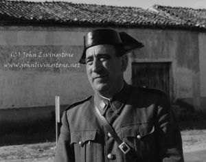 Civil Guard, La Mancha, Spain. 1967