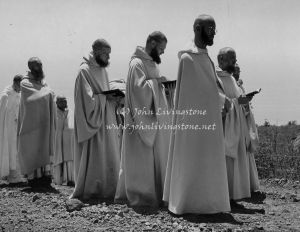 Monks at Camaldoli Hermitage, Big Sur, California, 1960