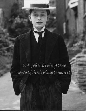 Harrow Boy, Harrow School, near London, 1953
