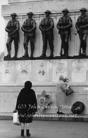 Remembrance Day, London, 1970