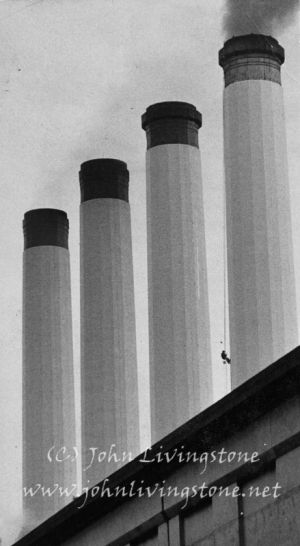 Battersea Power Station, London, 1971