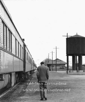 Whistle Stop, Somewhere in Nebraska, 1947