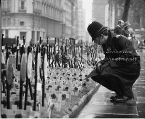 Remembrance Day, Westminster Abbey,  November, 1970